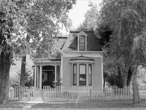 Frederick D. Glidden, aka Luke Short's house in Aspen, Colorado