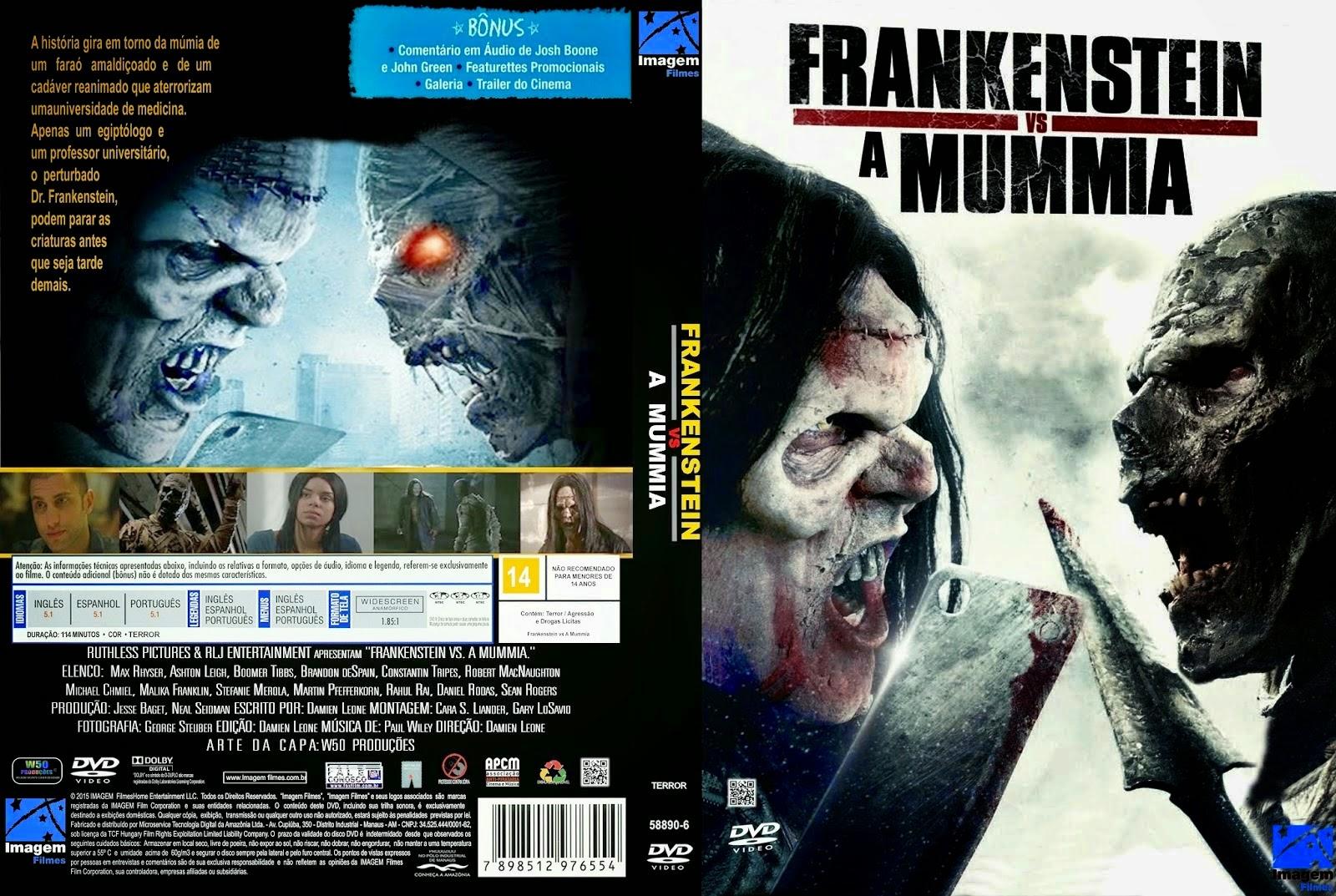 Download Frankenstein Vs.a Múmia DVDRip XviD Dual Áudio Frankenstein 2BVs