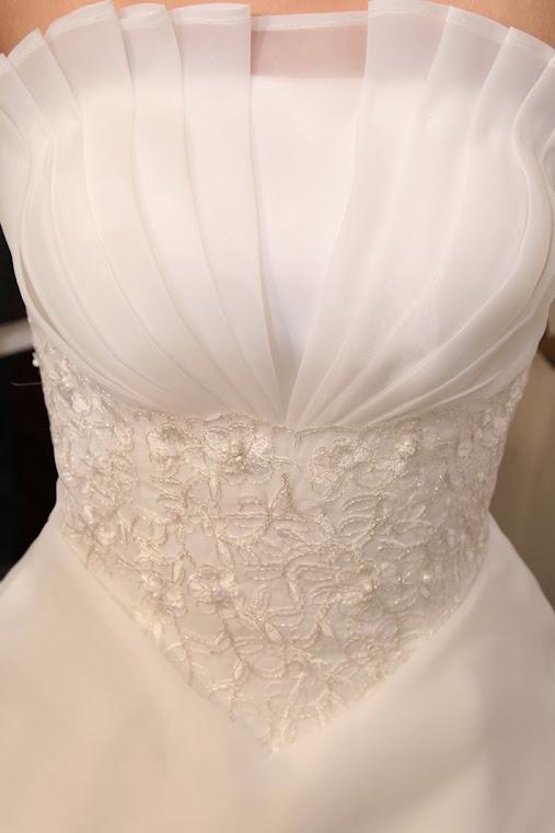 Vestido de noiva-Descrição do produto: