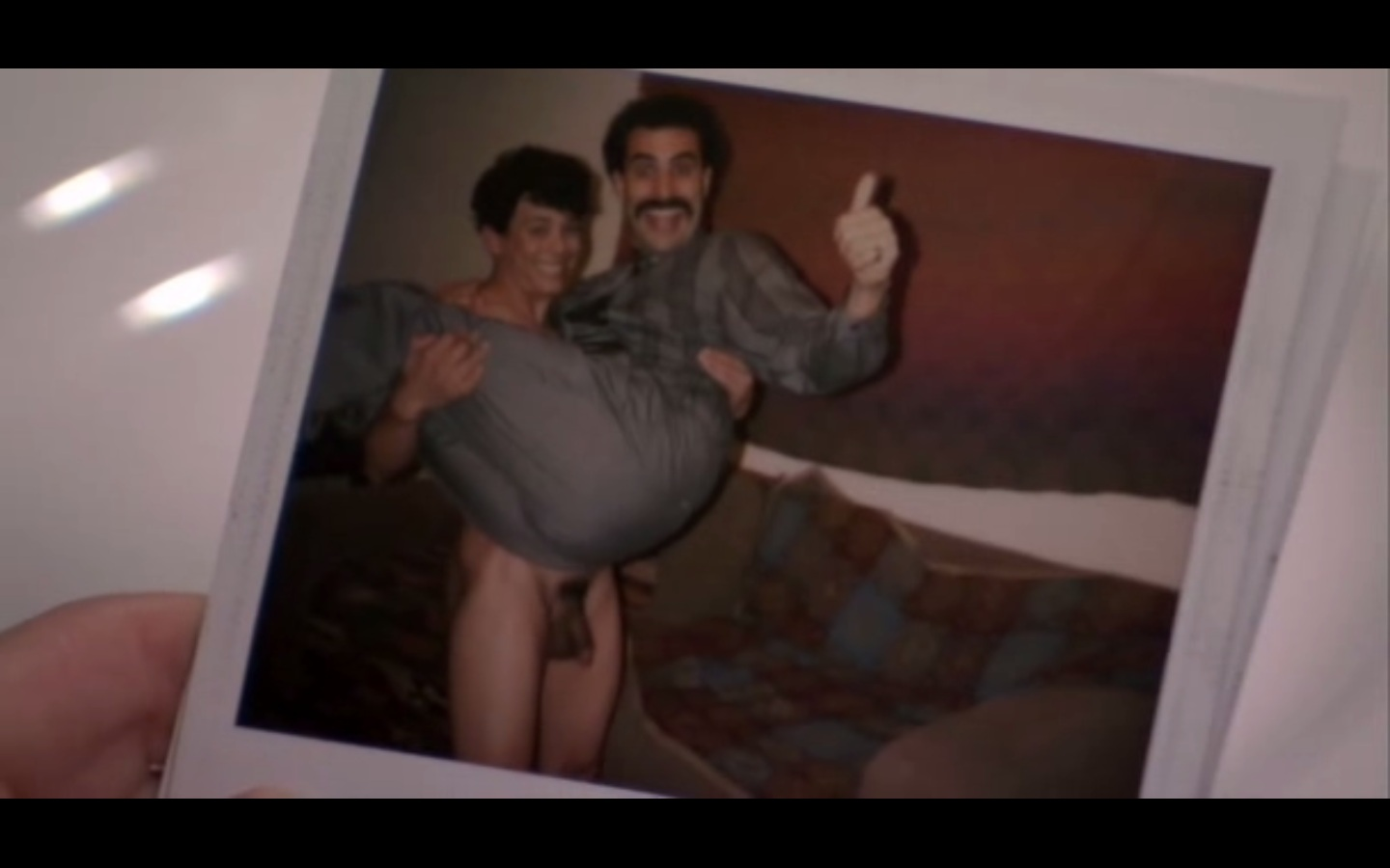 Scene uncensored nude borat