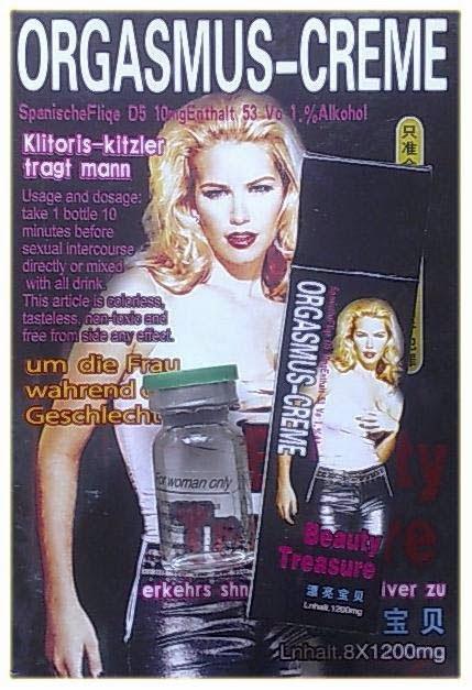Orgasmus Creme Beauty  Treasure - Sex Toys Shopping! Toko Alat Bantu Sex Pria dan Wanita No 1 Dikelasnya