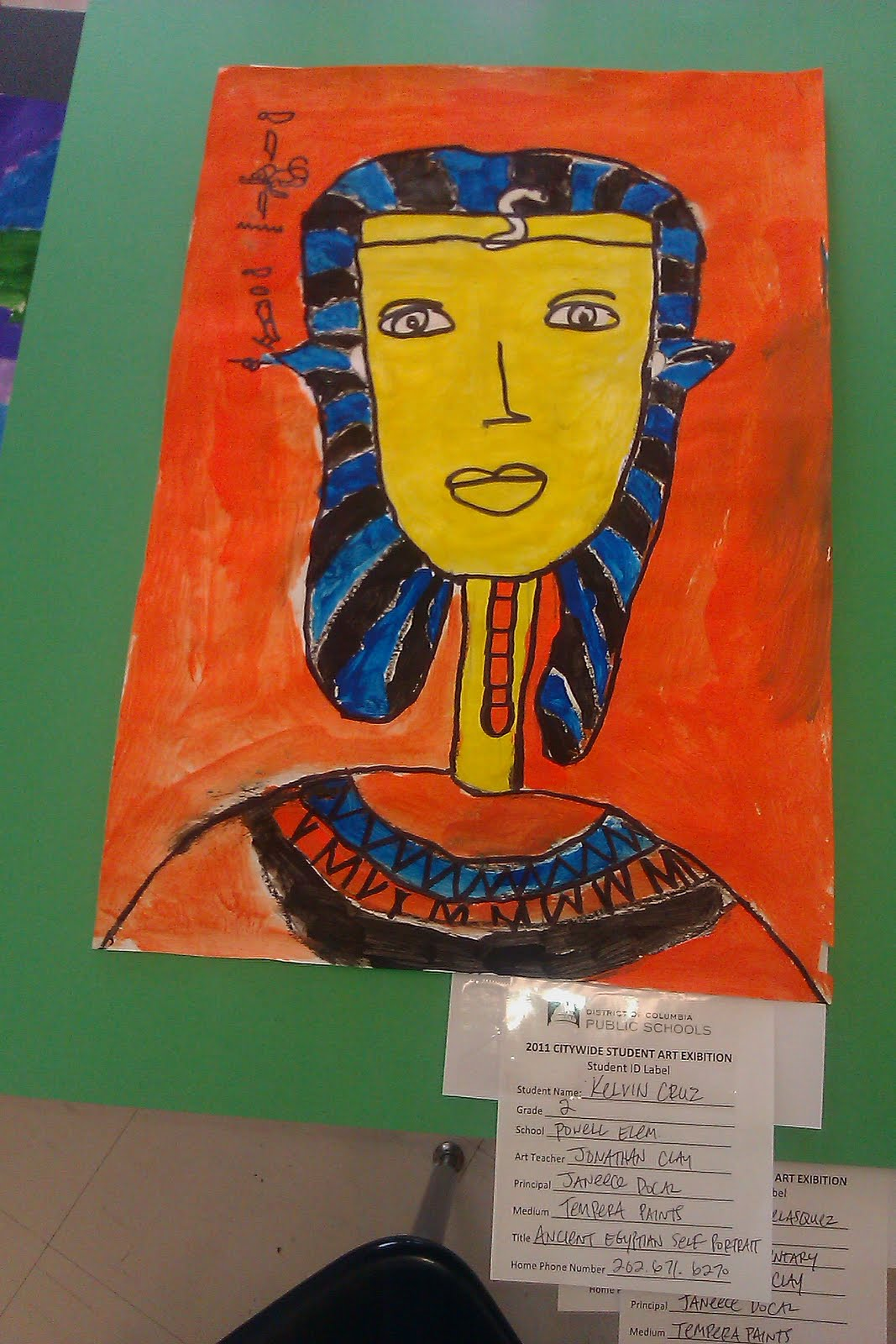 teaching art from the heart  ancient egyptian self
