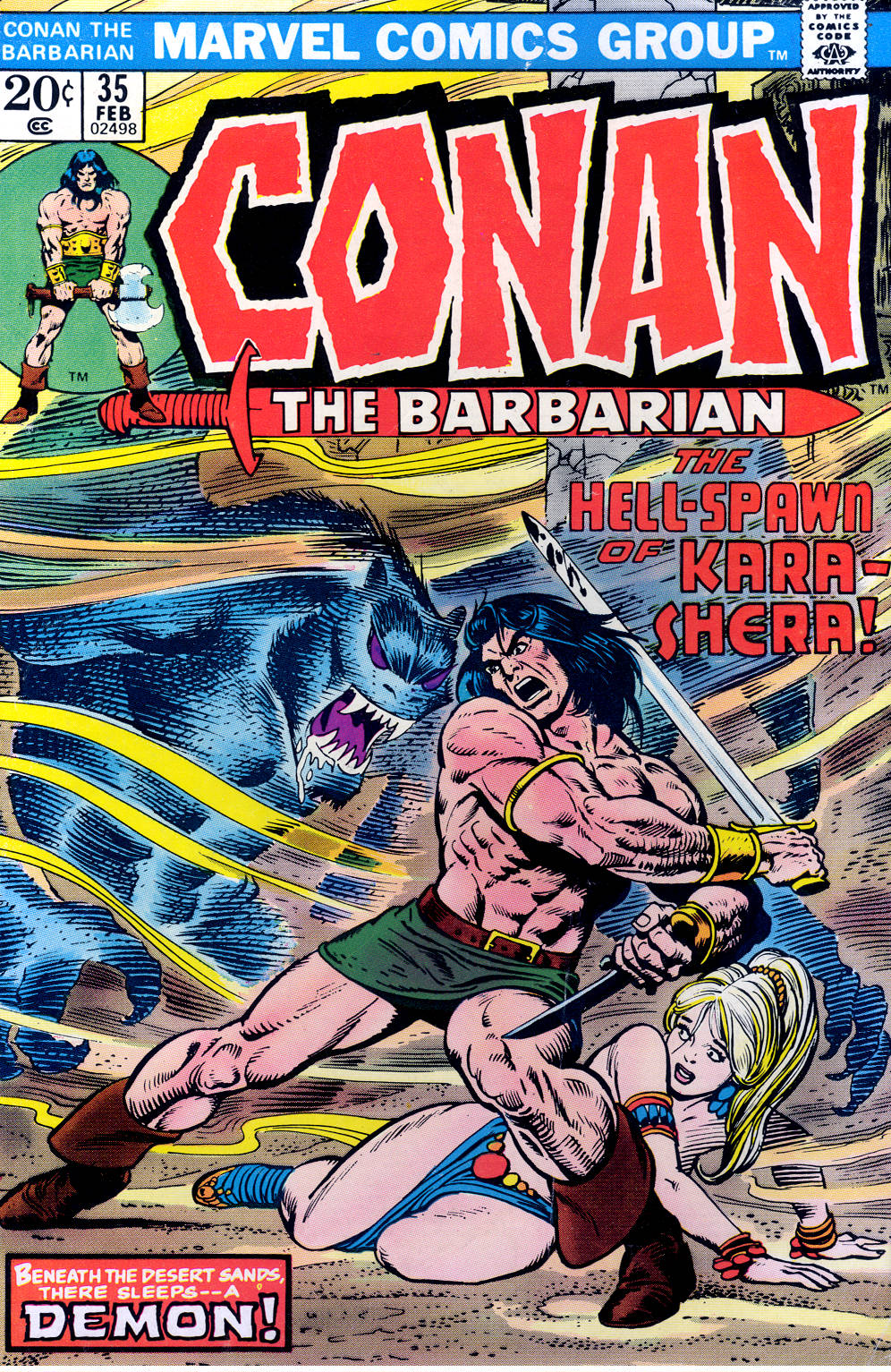 Conan the Barbarian (1970) 35 Page 1