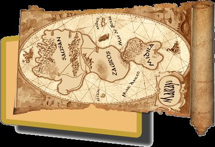 Mapas de TIERRA DE UNICORNIOS