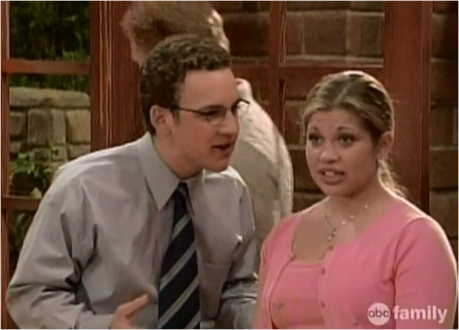 hot girl on boy meets world When cory decides he wants to be a hard-hitting journalist and write about life from the perspective of a woman, it's up to shawn to pretty-it-up and go on his first date as a lady this episode is laugh out loud funny as cory remains his dorky self in a dress, and shawn pulls off the part of demure yet sexy.