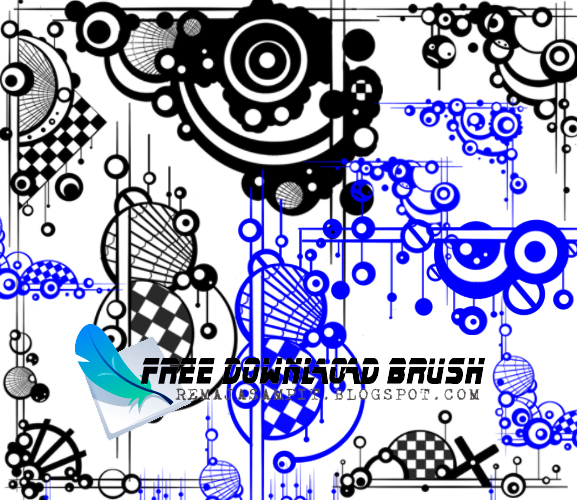 Brush Bingkai Sudut Photoshop