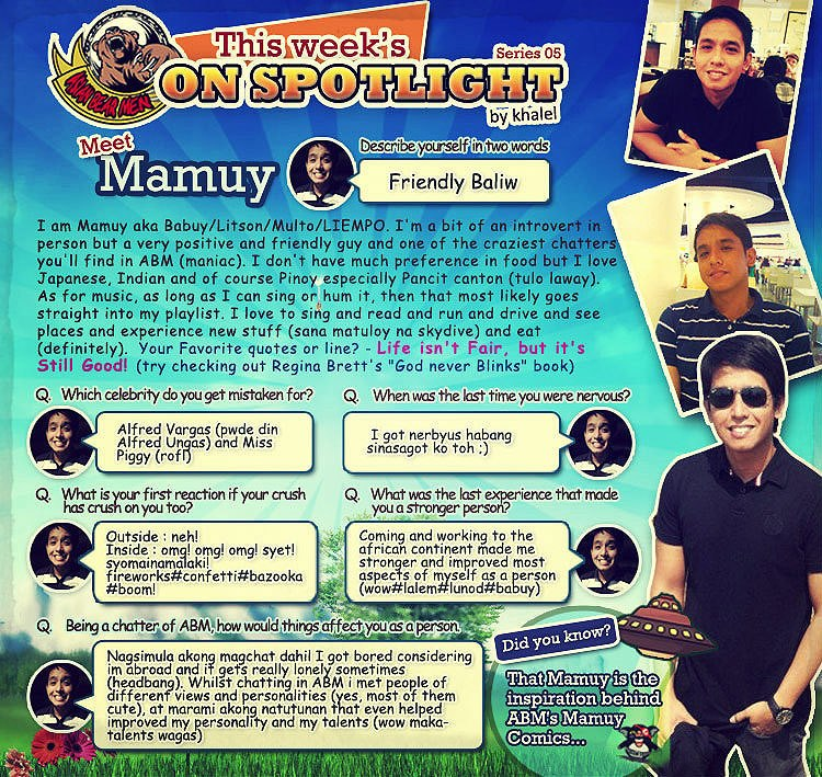 "Spotlight Of The Week ""Mamuy"""