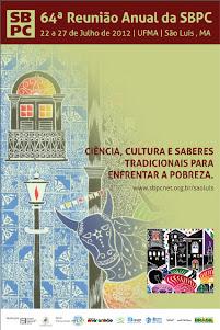 Cartaz 64a Reunião Anual daSBPC.