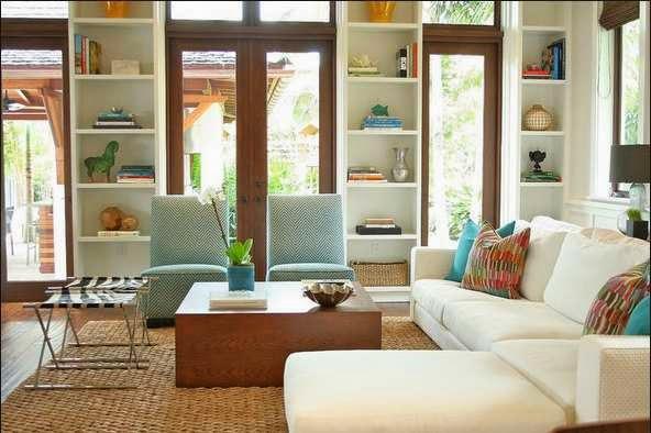 Desain ruang keluarga minimalis 4