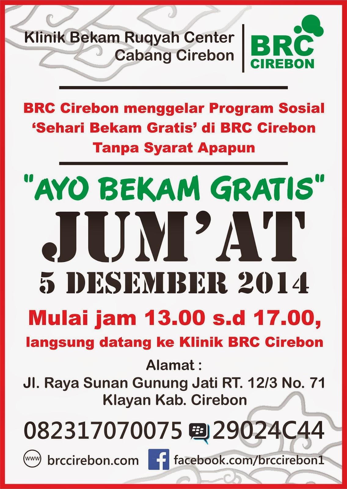 Klinik Pengobatan Alternatif Bekam Ruqyah di Cirebon Gratis