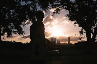 sunset in Brisbane, puesta de sol Brisbane