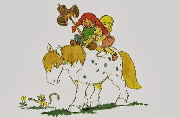 Bocetos de la película de Pippi Calzaslargas que planeaba Hayao Miyazaki