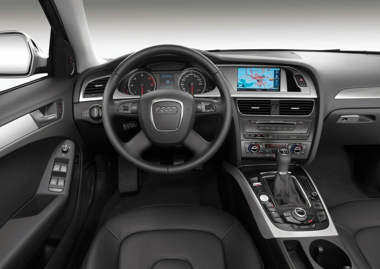 2008 Audi A4 Interior