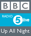 UFOs - Brian Vike Guest on BBC Radio 5 Live Up All Night