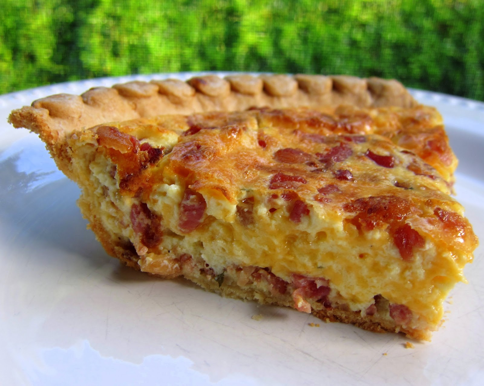 how to make bacon and egg pie rise