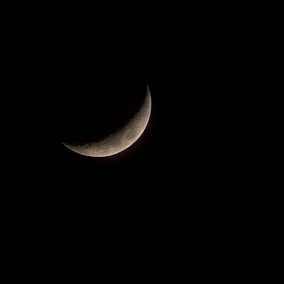 20% crescent moon