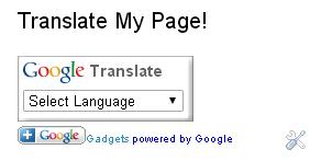 Cara Memasang Widget Terjemahan Di Blog