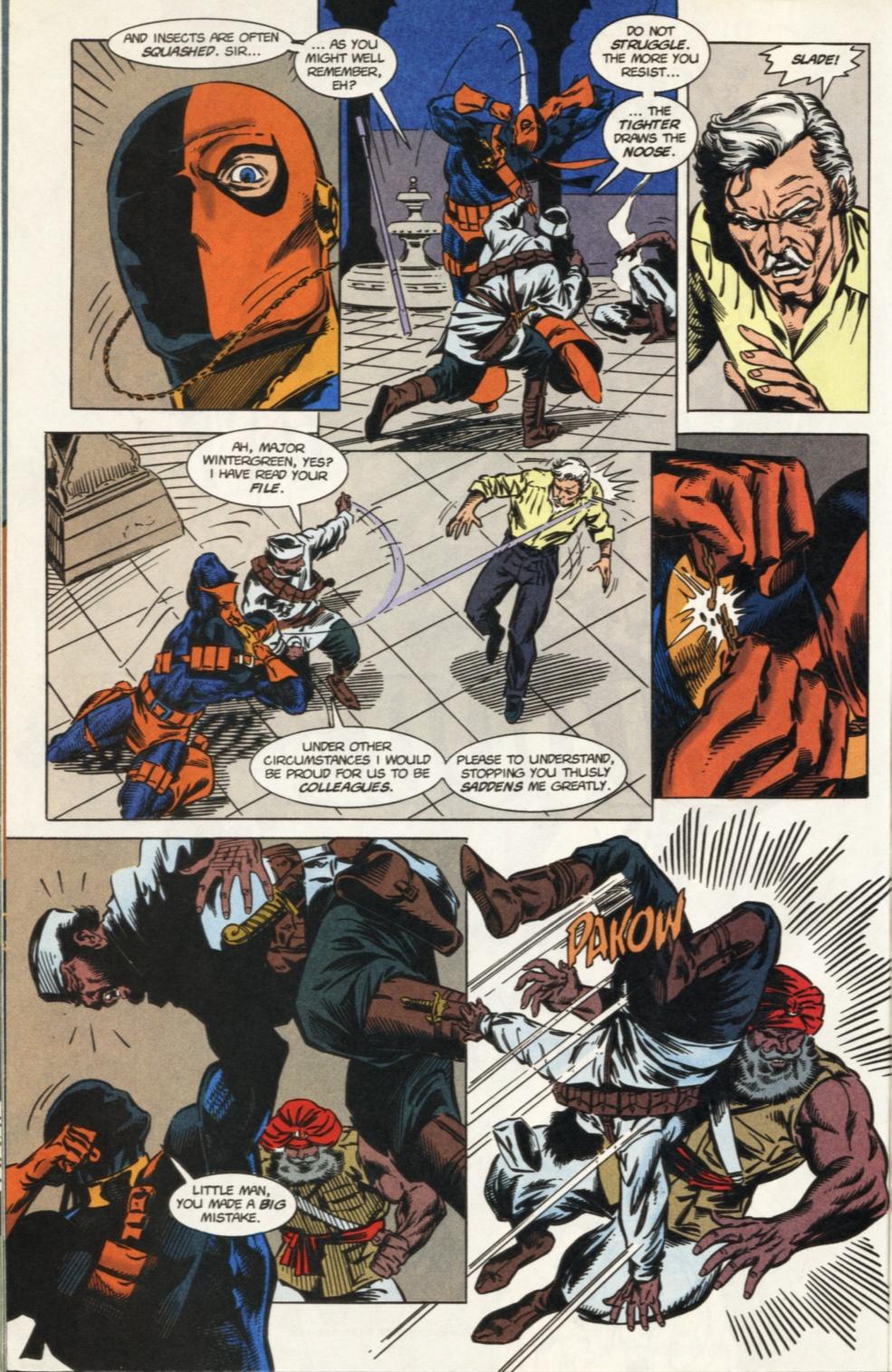Deathstroke (1991) Issue #31 #36 - English 15