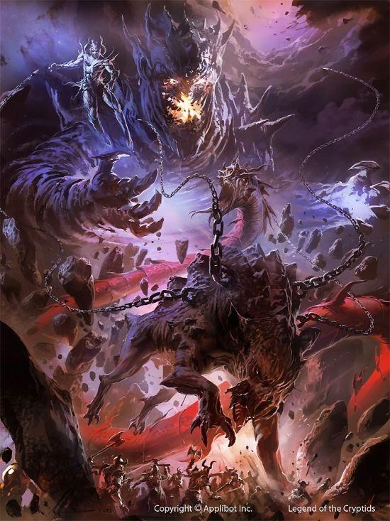 Ignacio Bazán Lazcano neisbeis deviantart ilustrações card games fantasia Ragnarok
