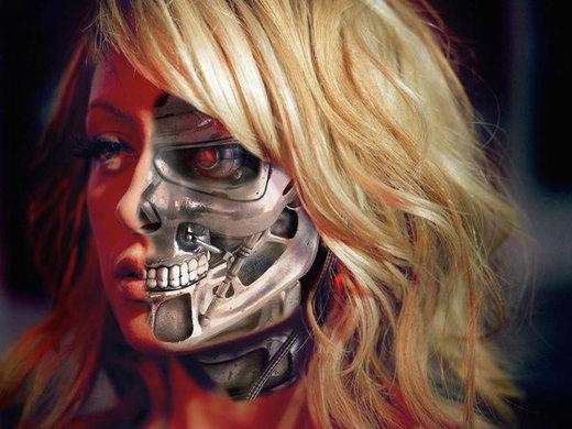 Nicole Richie Terminator por LegendKillersGirl