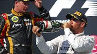 FÓRMULA 1-Hamilton aguantó toda la carrera