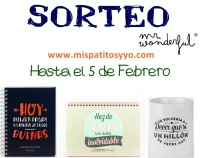 Sorteo Mr. Wonderful MisPatitosYYo