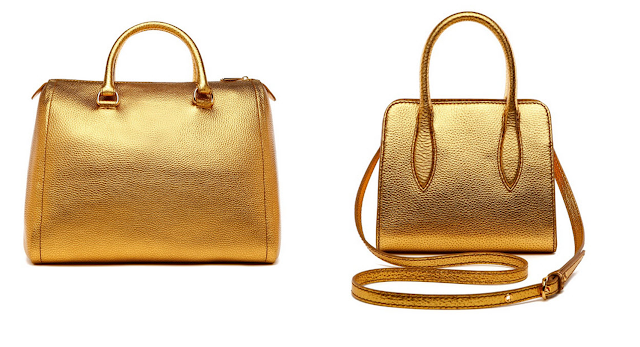Bimba&Lola Metallic Bag FW13/14