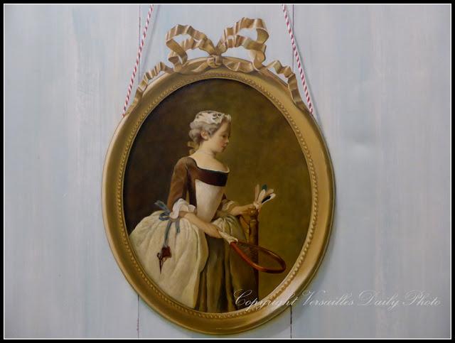 Ecole Sablé Versailles trompe-l'oeil