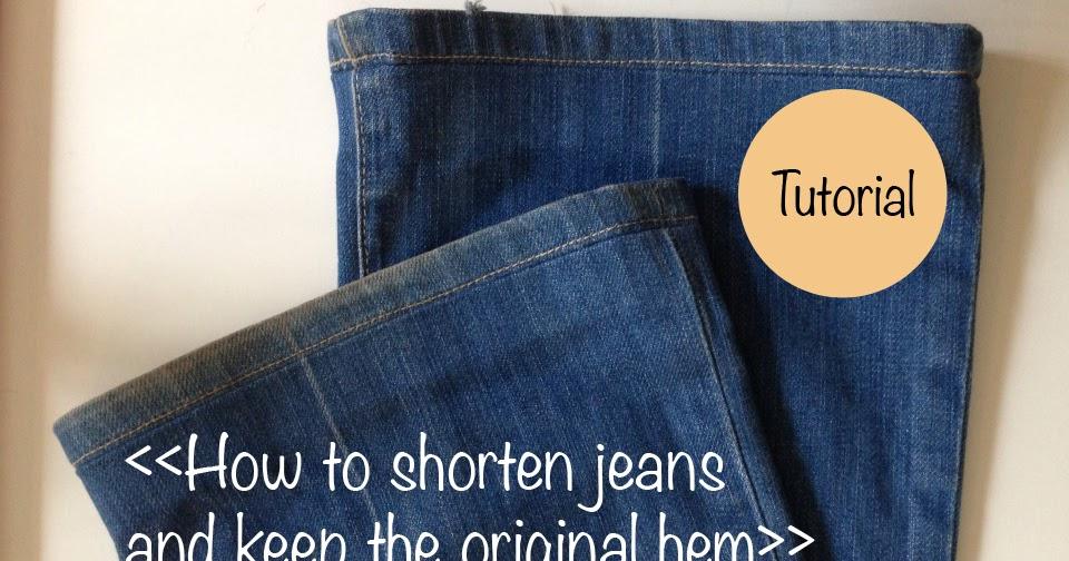 knit nat the best way to hem jeans. Black Bedroom Furniture Sets. Home Design Ideas