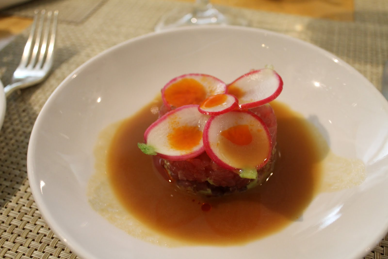 Tuna Tartare With Avocado And Radish Recipes — Dishmaps