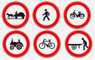 ممنوع السير في الطريق السيار