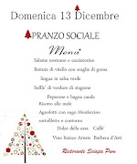 PRANZO SOCIALE 2015