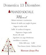 PRANZO SOCIALE 2015