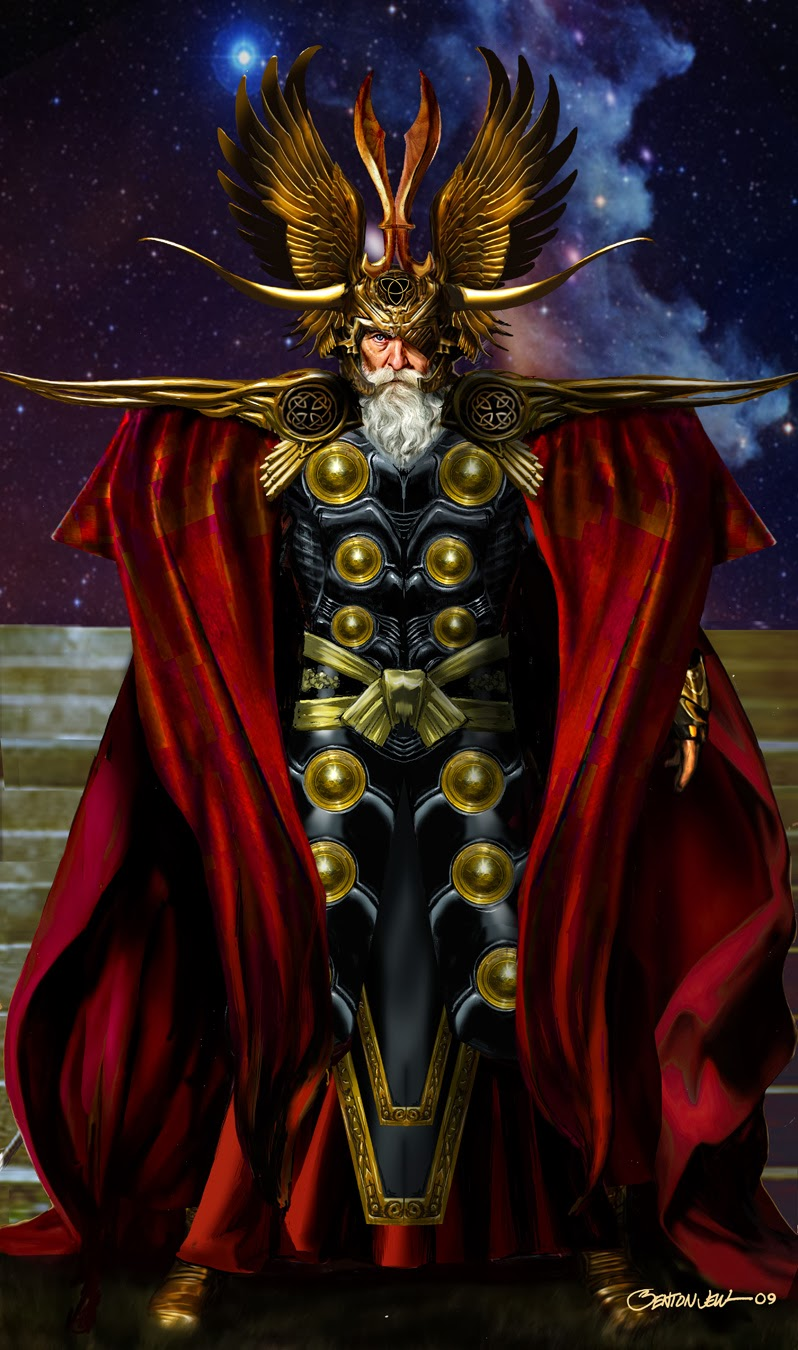 "Check Out Odin's ""Tighty-Whities"" in Unused THOR Concept ..."