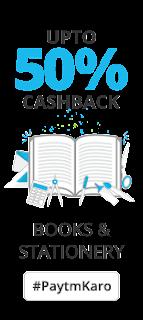 Buy Stationery, School & Office Supplies upto 50% Cashback at Paytm : BuyToEarn