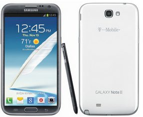 User Manual PDF Free Samsung Galaxy Note II SGH-T889