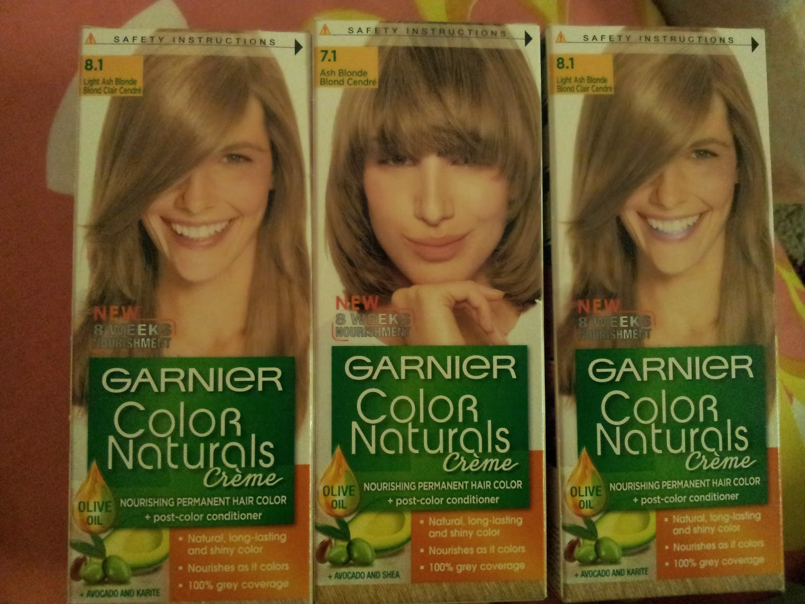 Experimenting With Life Experimenting With Garnier Color Naturals