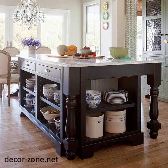 Unique Kitchen Island Small Kitchen Designs With Islands