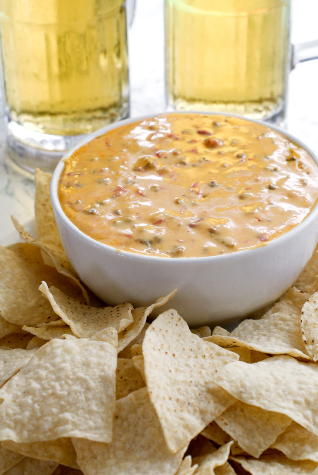 Cindee's Nacho Cheese Sausage Dip is the perfect slow cooker appetizer to serve at your next party!