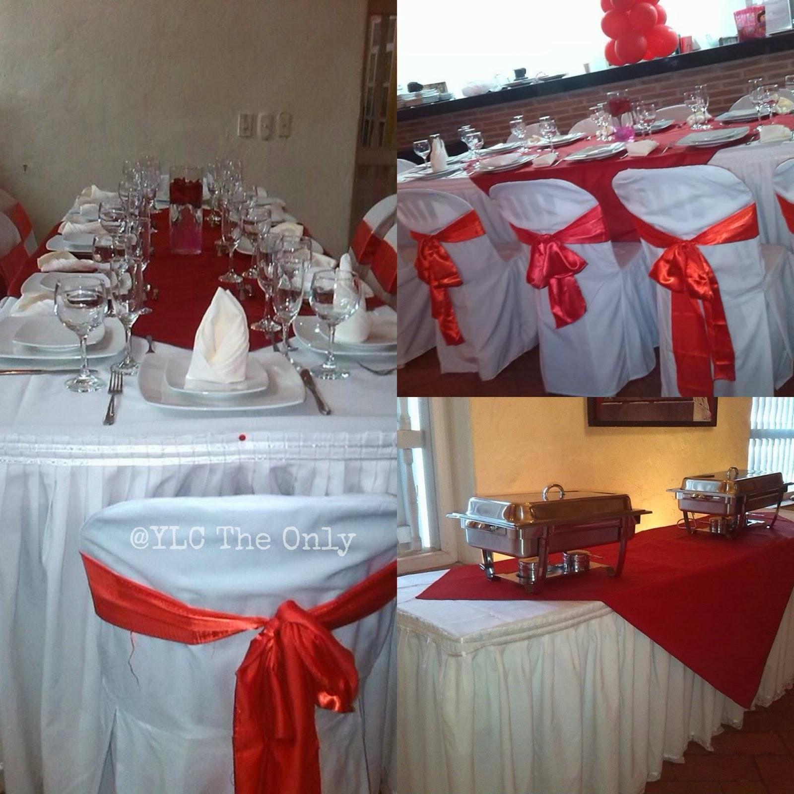 Ylctheonly montaje de una boda sencilla con decoraci n roja for Decoracion de apartamentos sencillos