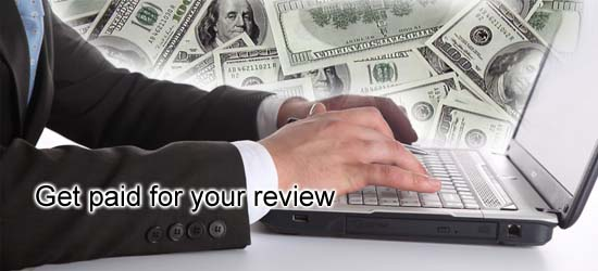 Writing reviews for money