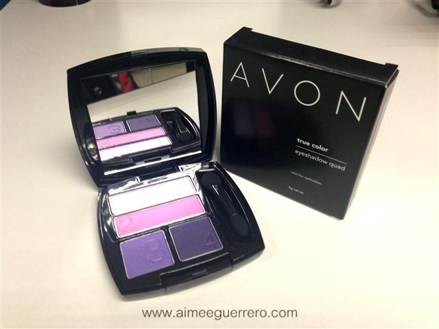 True Color Eye Shadow Quad   Avon Glamourbox