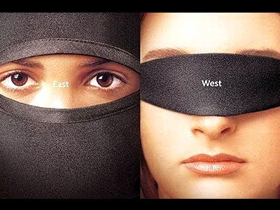 Difference between east and west women, hijab