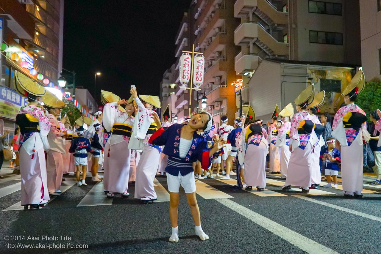 小金井阿波踊り 紅連