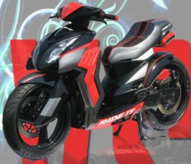 Gambar Foto Modifikasi Motor Yamaha Mio Terbaru
