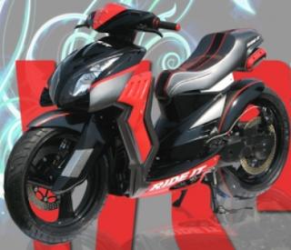 Kumpulan Gambar Modifikasi Motor Yamaha Mio