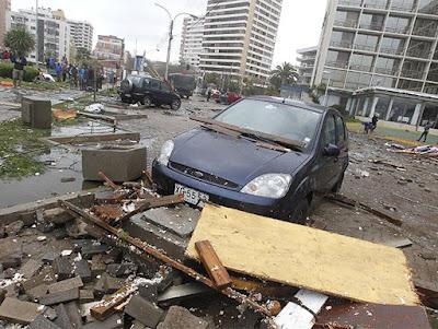 Temporal deja al menos 6 muertos en Chile