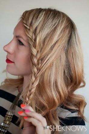 Foto Model  Rambut Kepang