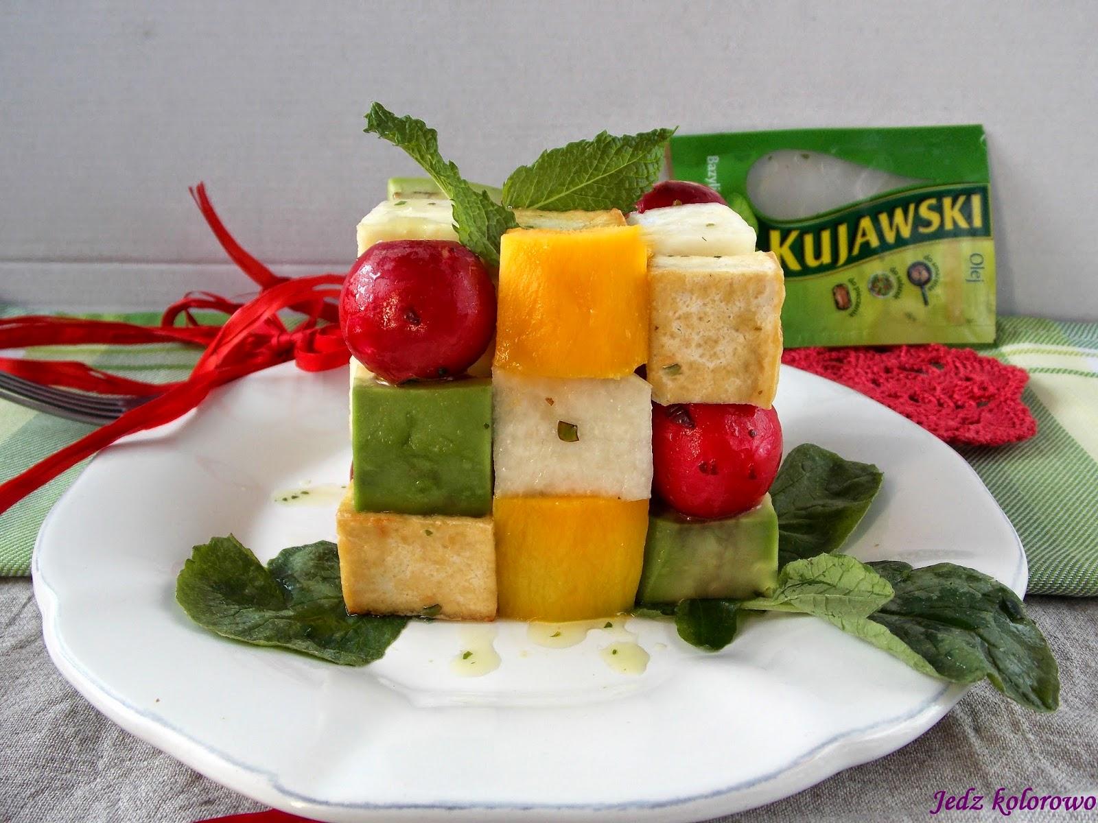 sałatka z tofu