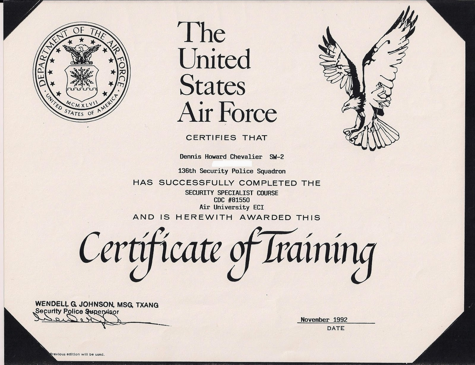 Air force certificate of appreciation template image collections af training certificate template images certificate design and air force certificate template download gallery certificate usaf yelopaper Choice Image